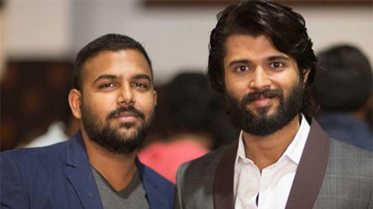 Vijay Devarakonda with tharun Basker