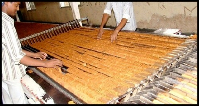 Biscuit production