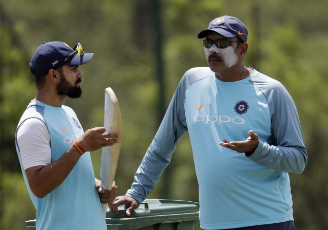 Ravi Shastri and Kohli