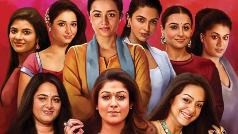 Tamil cinema actresses