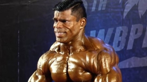 Bodybuilder Baskaran