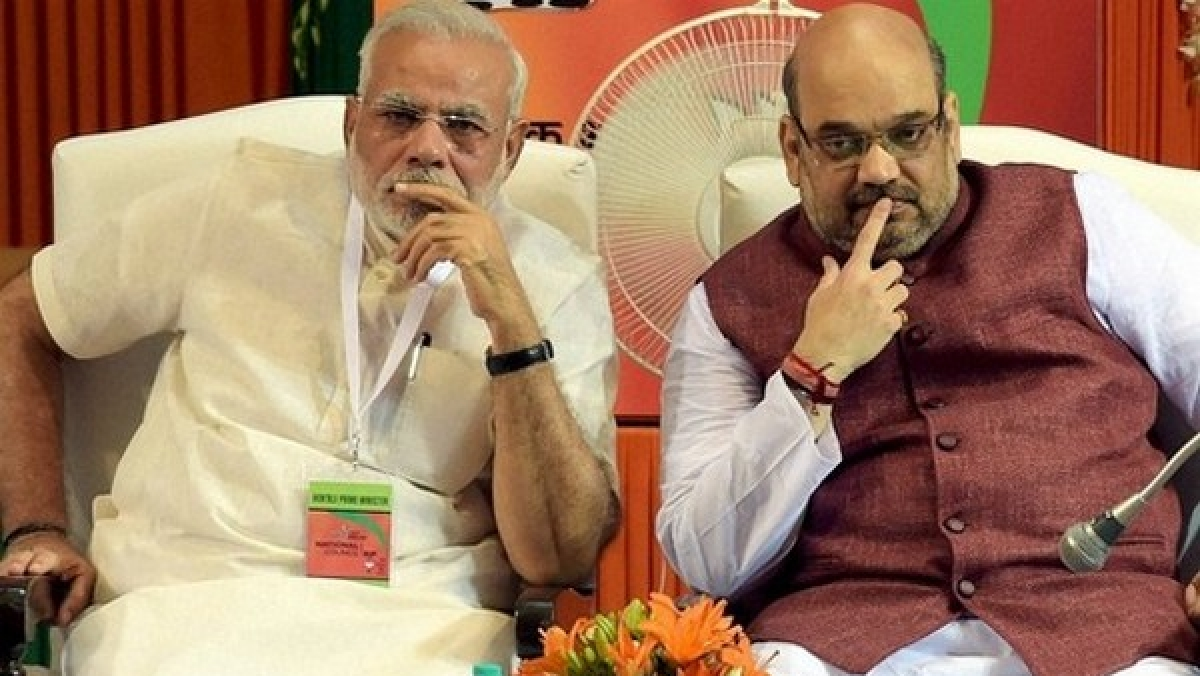Modi and Amit Shah