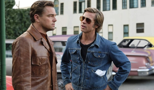 Dicaprio and Brad Pitt in OUATIH