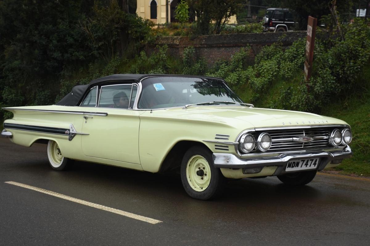 vintage car rally ooty