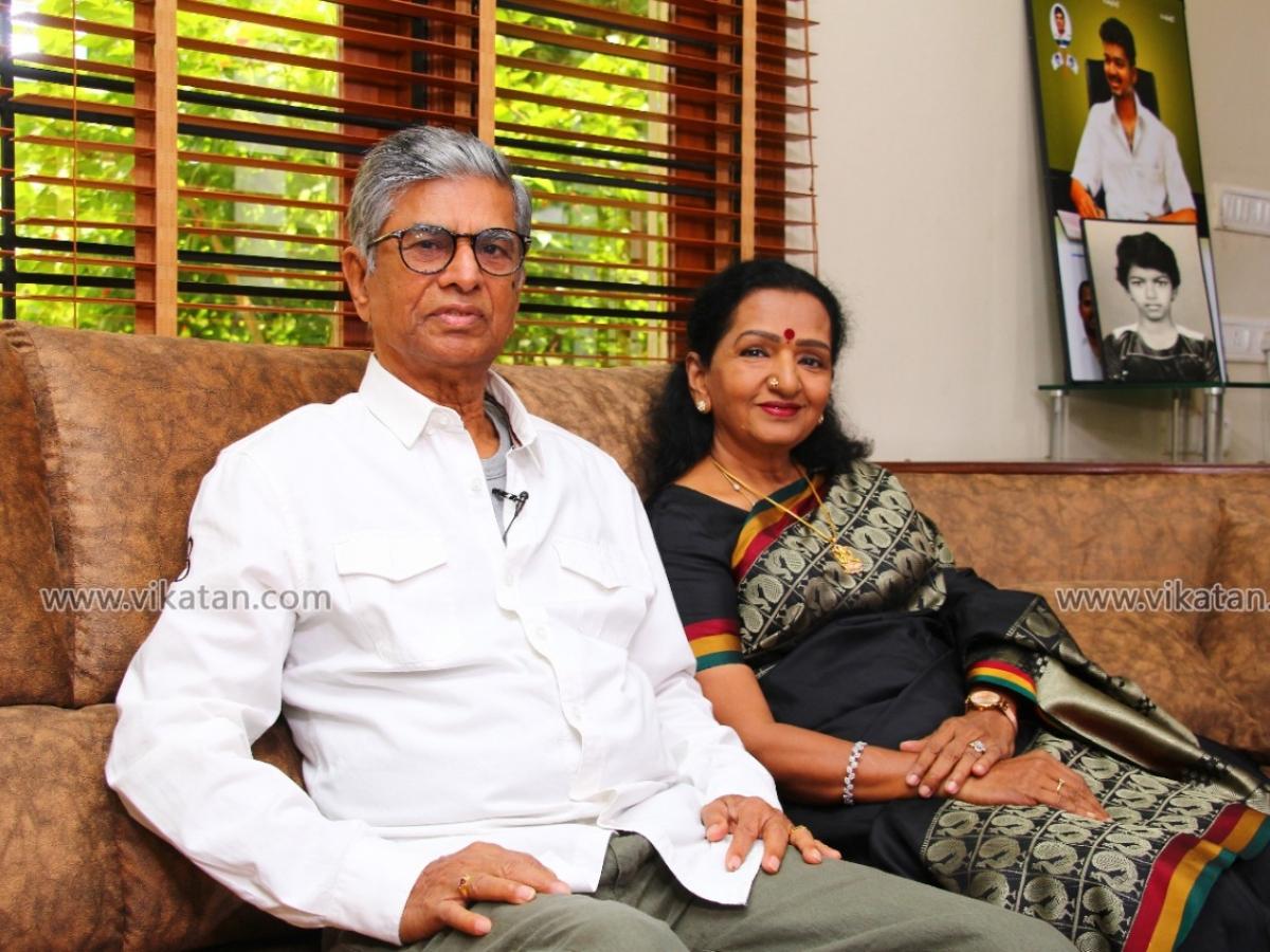 ``அன்புள்ள விஜய்...உனக்கு ஒரு நீண்ட பிகில்!'' - விஜய்க்கு அவர் அம்மா எழுதிய கடிதம் #VikatanExclusive
