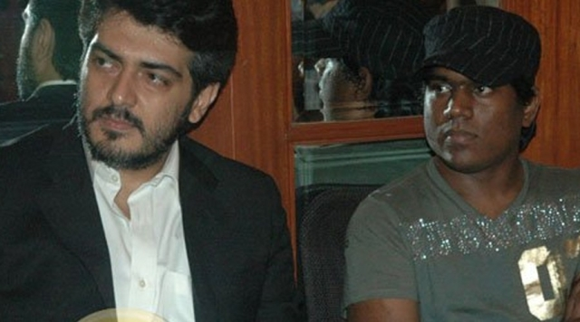Ajith with Yuvan Shankar Raja