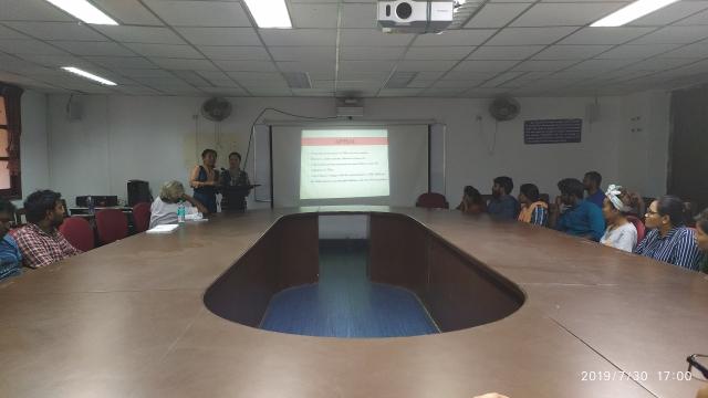 சென்னைப் பல்கலைக்கழகத்தில் நடந்த திபெத் குறித்த உரையாடல்