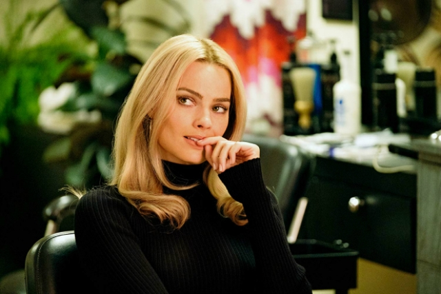Margot Robbie as Sharon Tate in OUATIH