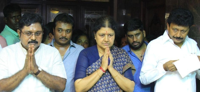 sasikala with family members