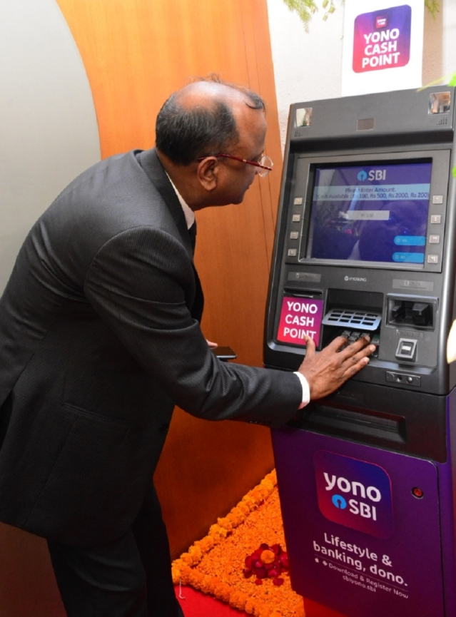 SBI Yono cash point