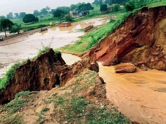 konar Canal collapse