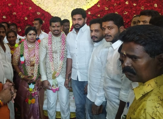 Jai Anand in the wedding function