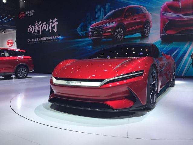 BYD e-seed concept