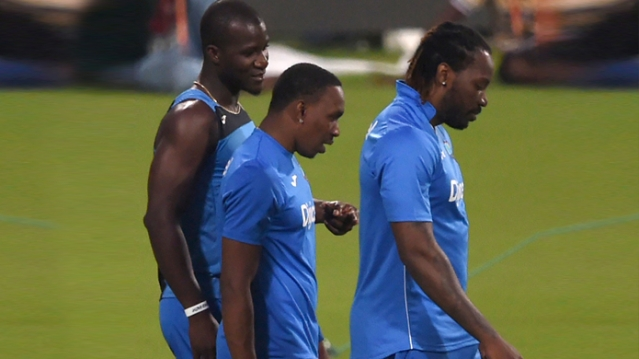 Sammy, Bravo and Gayle