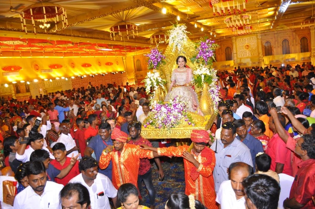பங்காரு அடிகளார் இல்லத் திருமணம்