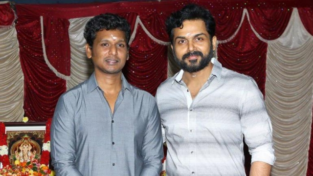 Director lokesh kanagaraj and Karthi