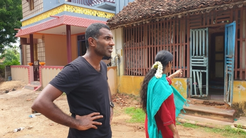 தாயைத் தேடும் டேவிட் சாந்தகுமார்