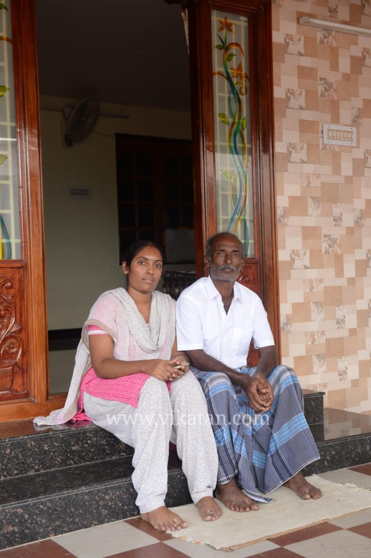 ரகுவின் அப்பா மற்றும் தங்கை