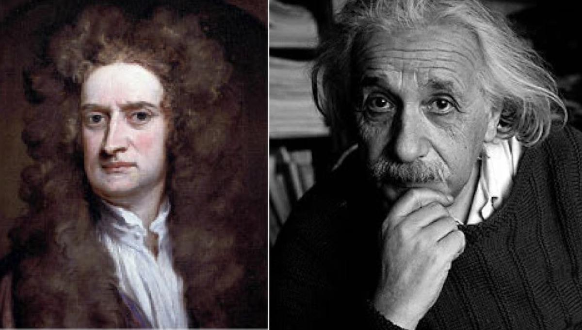 Newton - einstein