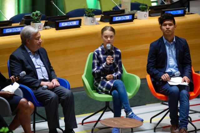 Greta Thunberg  UN Summit