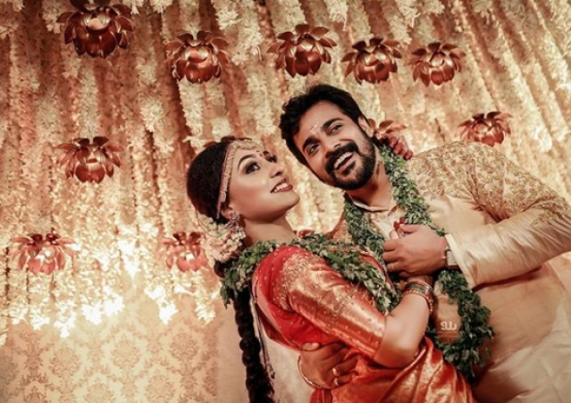 Srinish and Pearle Hindu wedding