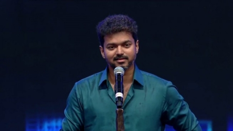 Vijay in Sarkar audio Launch