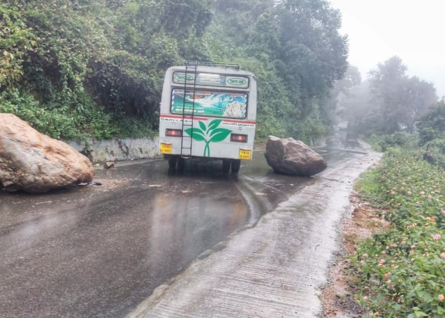 Heavy rain in Nilgiris