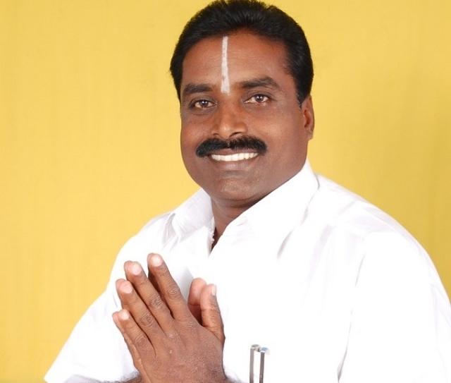 ADMK candidate Narayanan