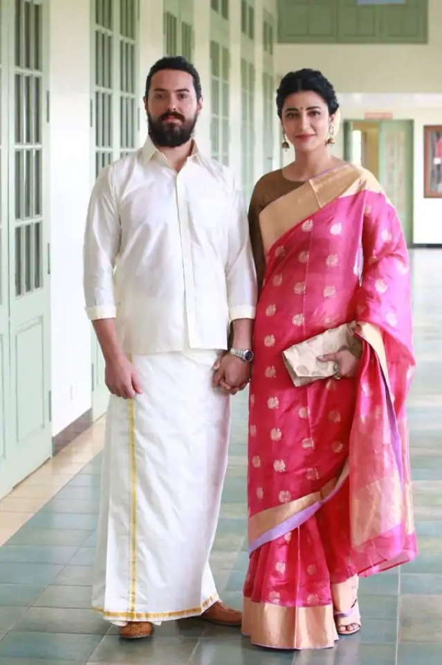 Shruthi Hasan and Michael Corsale