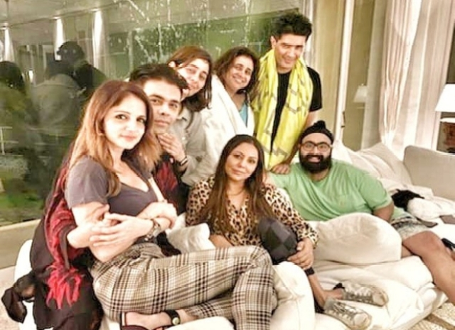 Karan Johar's friends get together