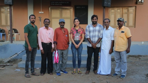 Laabam movie team