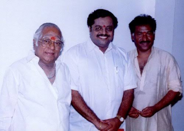 Music Director Deva With MSV