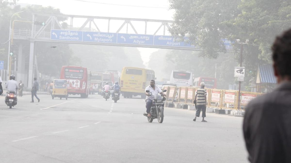 சென்னை காற்று மாசுபாடு