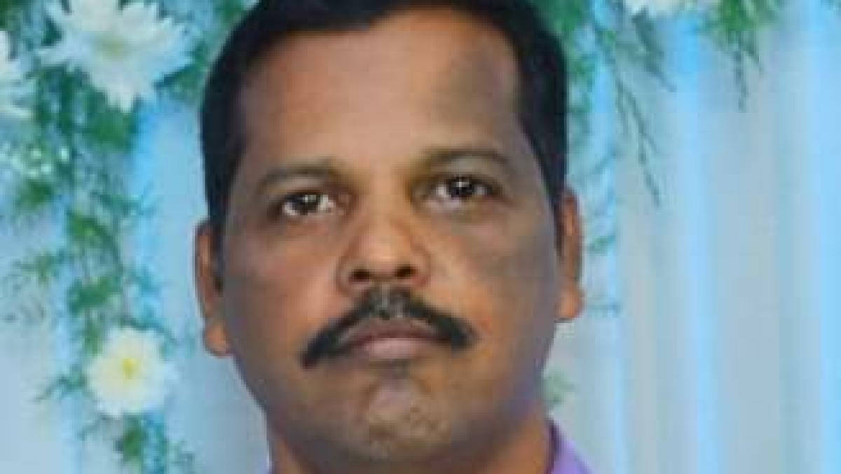 விபத்தில் இறந்த சி.ஆர்.பி.எஃப் அதிகாரி அருளப்பன்