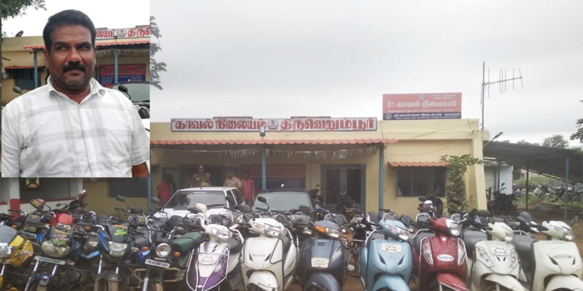 அகஸ்டின் - பைக் திருட்டு
