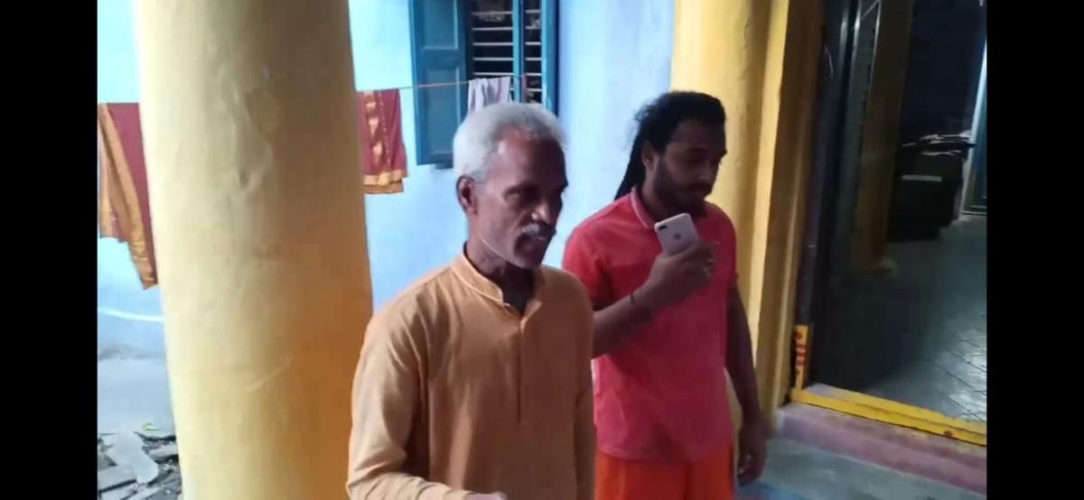 காஞ்சிபுரம் மடத்தில் நித்யானந்தா சீடர்கள்