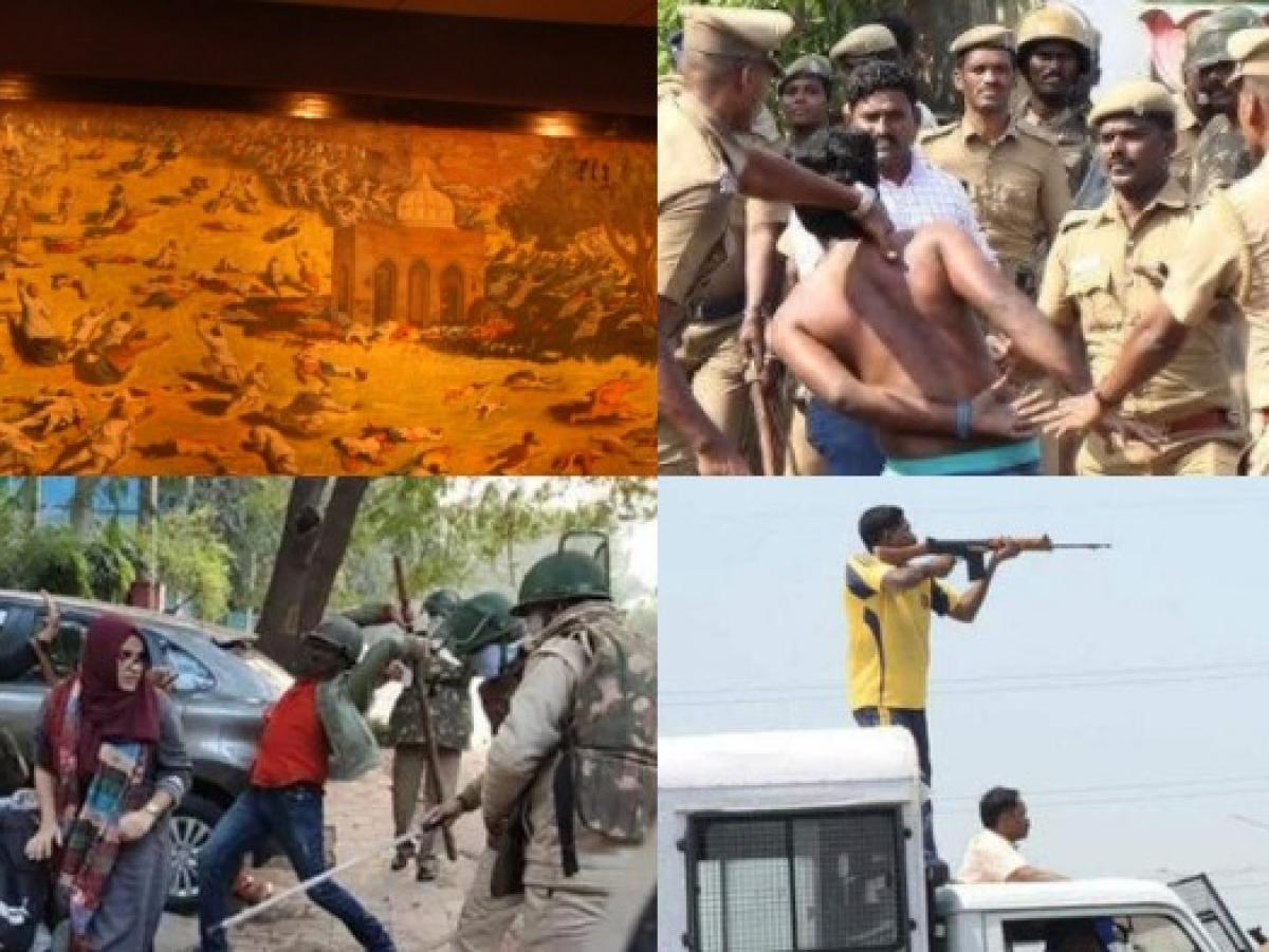 சுட்டுக் கொல்லப்பட்டது 17,000 பேர்; அரசாங்கக் கணக்கு 2 பேர் - காவல்துறை தாக்குதல்களின் டைம்லைன்!