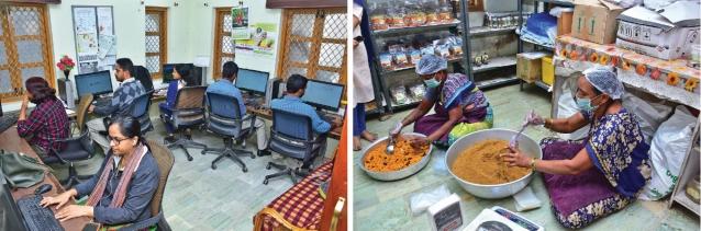 கிஸான் மந்த்ரா குறைதீர் மையம், மதிப்புக்கூட்டும் கூடம்