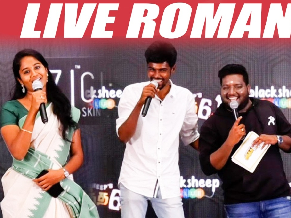 Mic Set Sriram Live Performance with Pavi Teacher & NP | RJ Vignesh