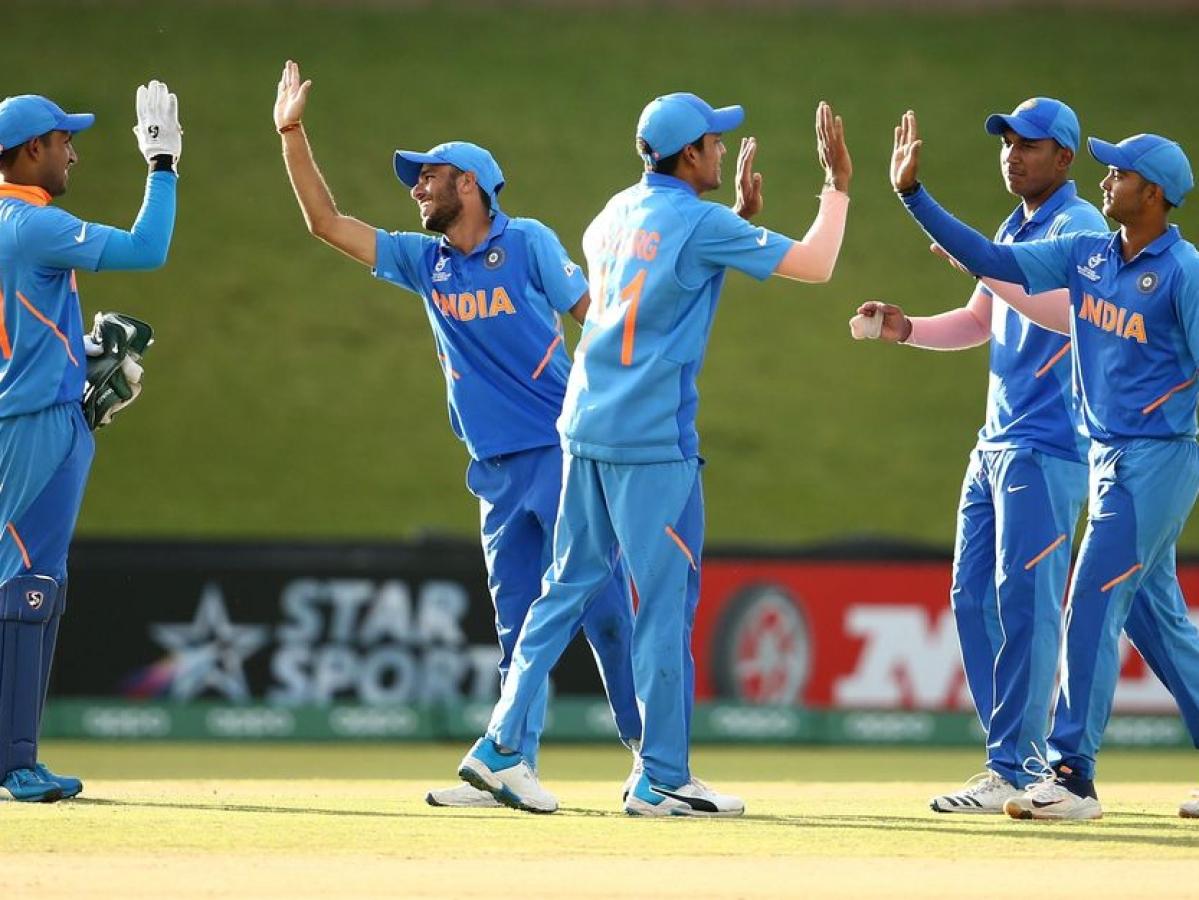 U19 உலகக்கோப்பை கிரிக்கெட் - நியூசியை வீழ்த்தி காலிறுதிக்கு முன்னேறிய இந்திய இளம்படை! #NZvIND #NowAtVikatan
