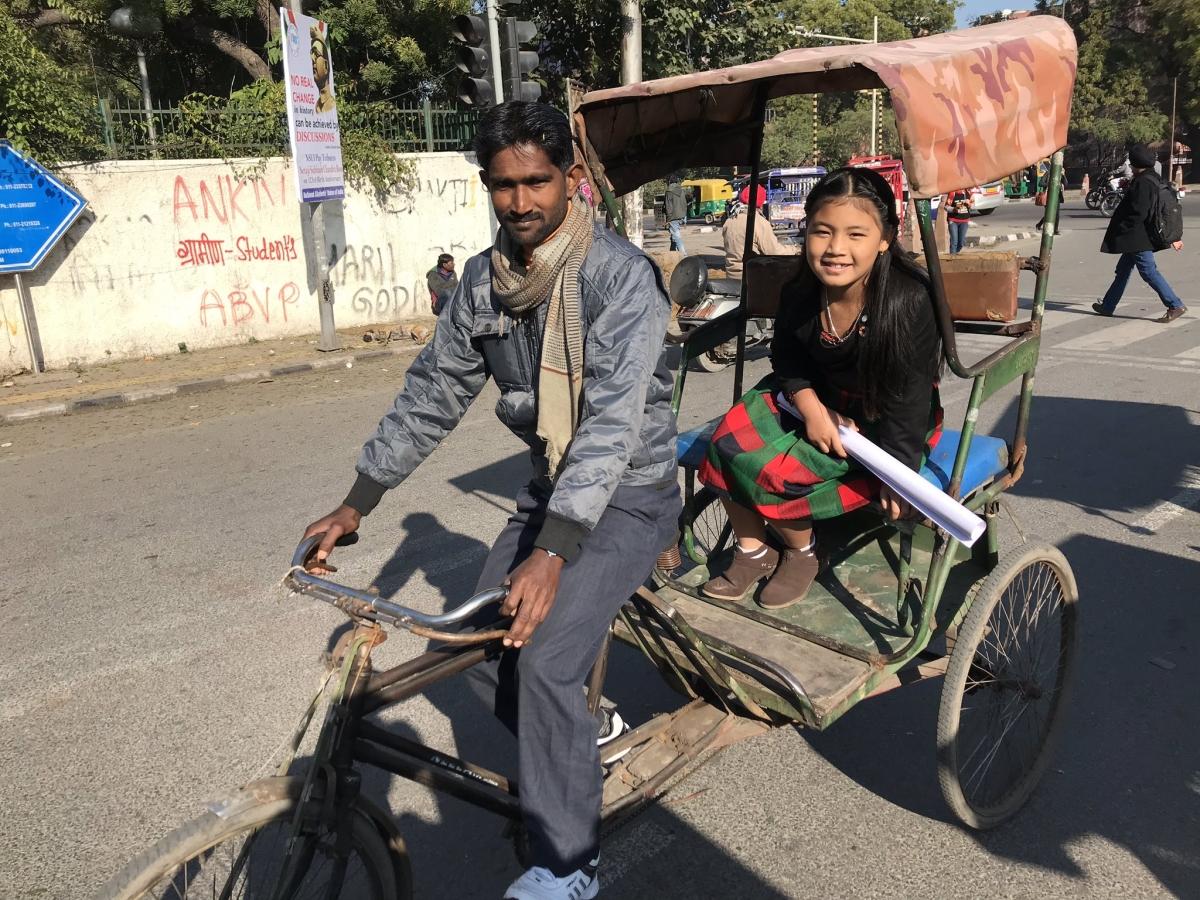 `இந்தியாவின் கிரேட்டா என அழைக்காதீர்கள்..!'- காலநிலை மாற்றத்துக்கு எதிராகப் போராடும் 8 வயதுச் சிறுமி
