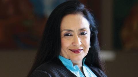 லலித் சூரியின் மனைவி ஜோத்ஸ்னா சூரி
