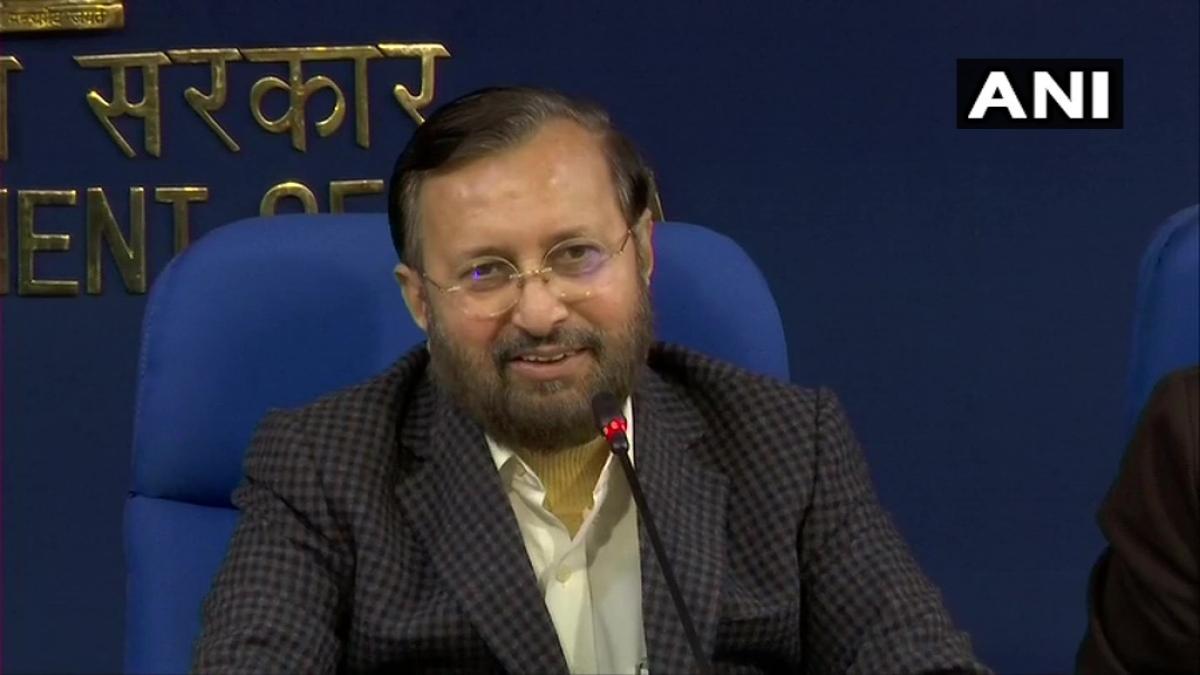 மத்திய அமைச்சர் பிரகாஷ் ஜவடேகர்