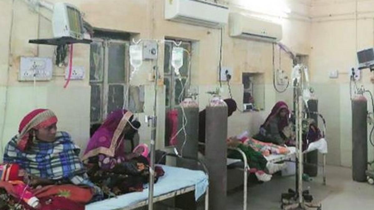 100 குழந்தைகள் பலியான ராஜஸ்தான் மருத்துவமனை