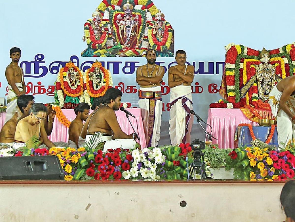 சென்னையில் ஆன்மிகத் திருவிழா!