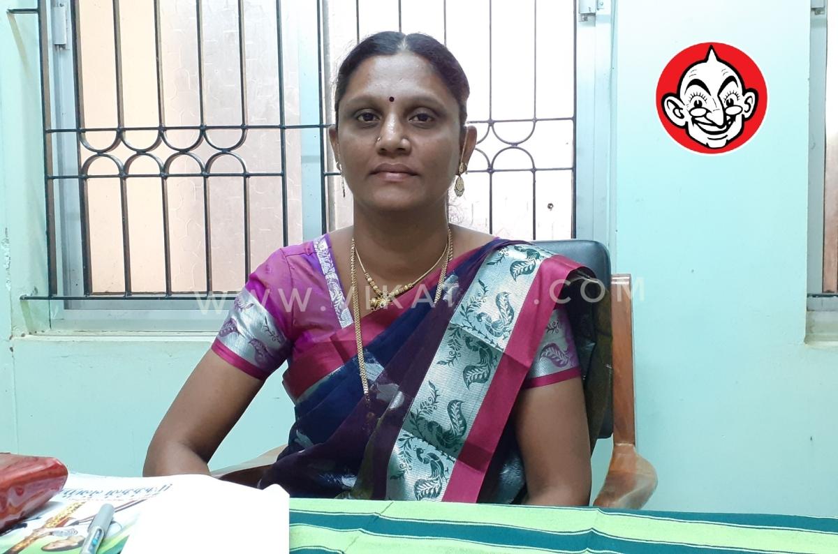மாவட்ட ஊராட்சித் தலைவர் ப்ரீத்தா