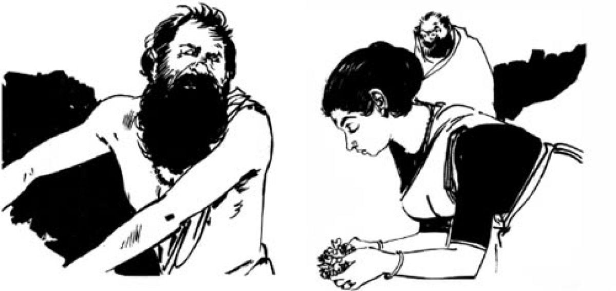`ஆஹா.. நீ என் போன ஜென்மத்து மனைவி அல்லவா!' - போலிச் சாமியார்களின் நிஜமுகம் #VikatanVintage