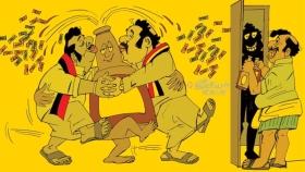 கள்ளச்சந்தை சரக்கு பிஸினஸ்... ஊரடங்கு காலத்தில் கோடிகளில் `கூட்டு'க் கொள்ளை!