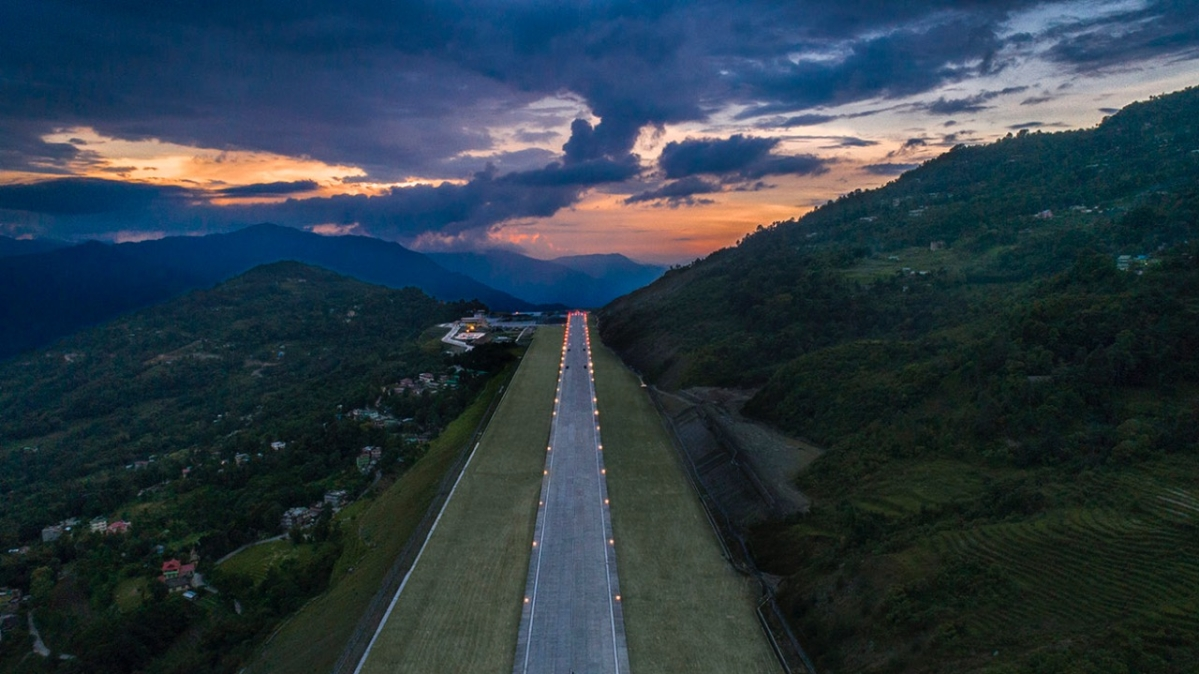10 photos of Sikkim's new airport that will take your breath away