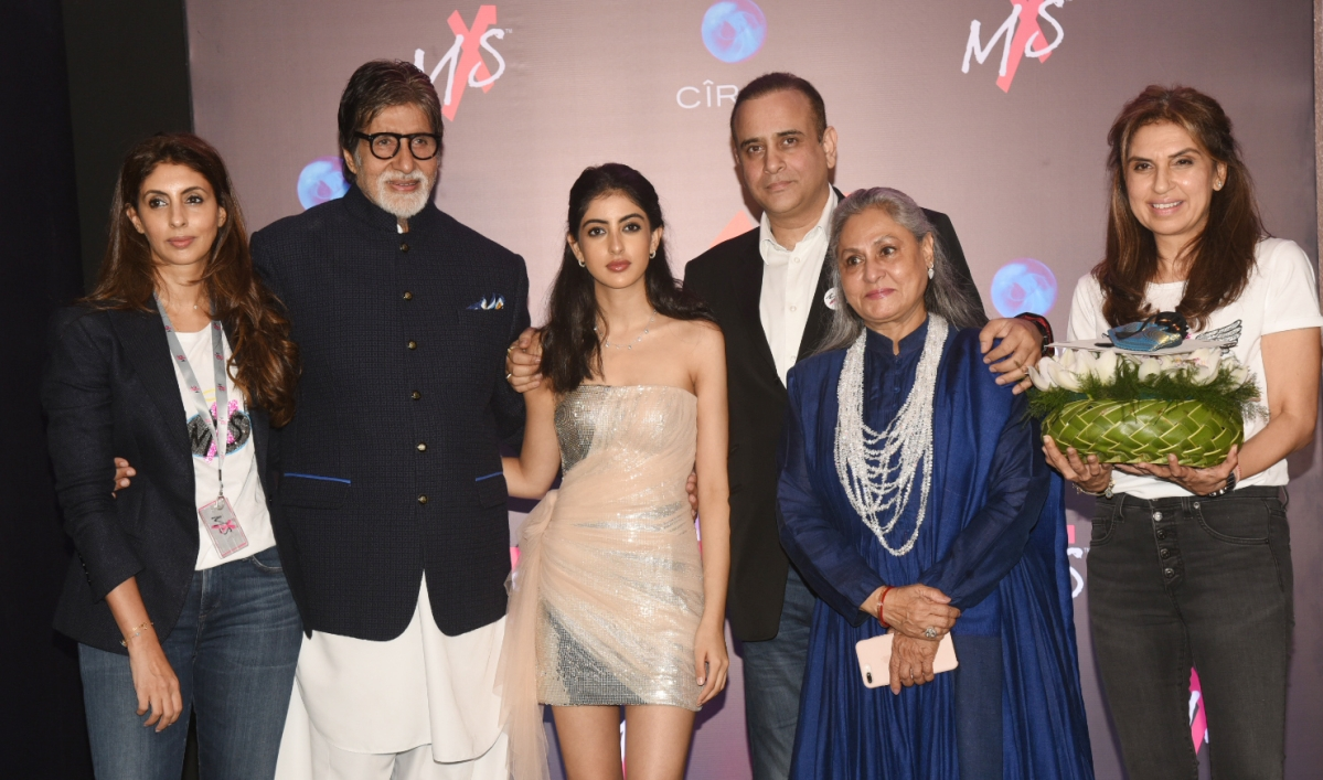 Family and Friends Step Out for Shweta Bachchan's Store Launch